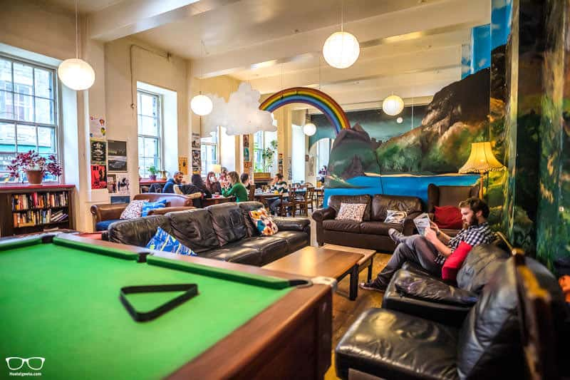 High Street Hostel one of the best hostels in Edinburgh for Solo Travellers