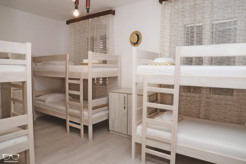 Hostel Korcula is one of the best hostels in Croatia, Europe