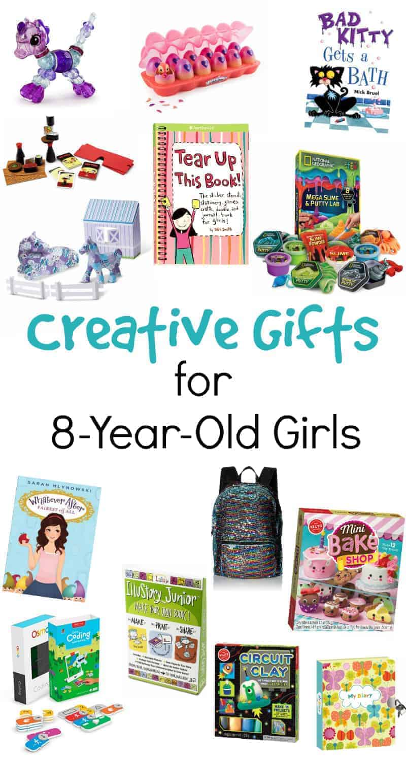 gifts for 8 year old girls