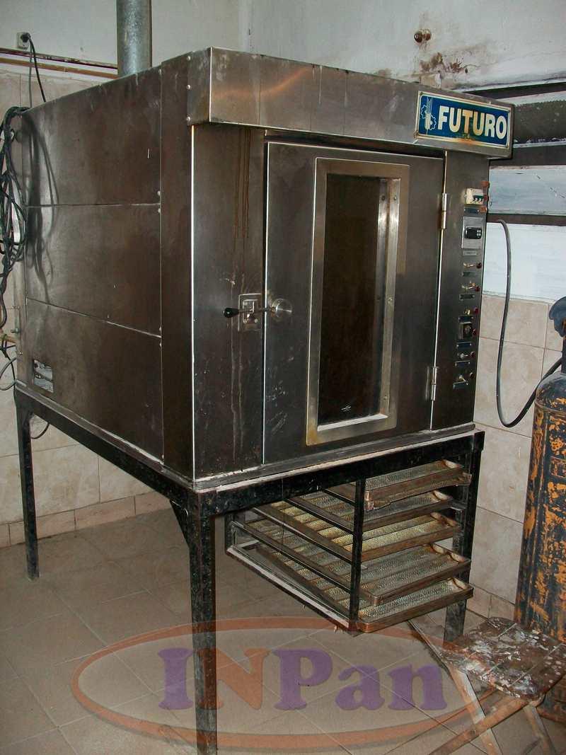 Horno Rotativo Futuro 8 bandejas 70x45cm