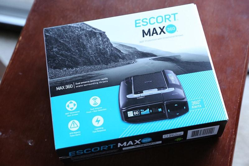 ESCORT Max 360 Radar + Laser Detector