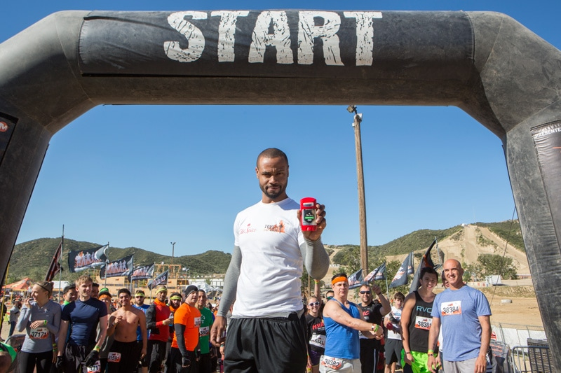 Isaiah Mustafa Kicks Off Old Spice's Year-Long Tough Mudder Competition