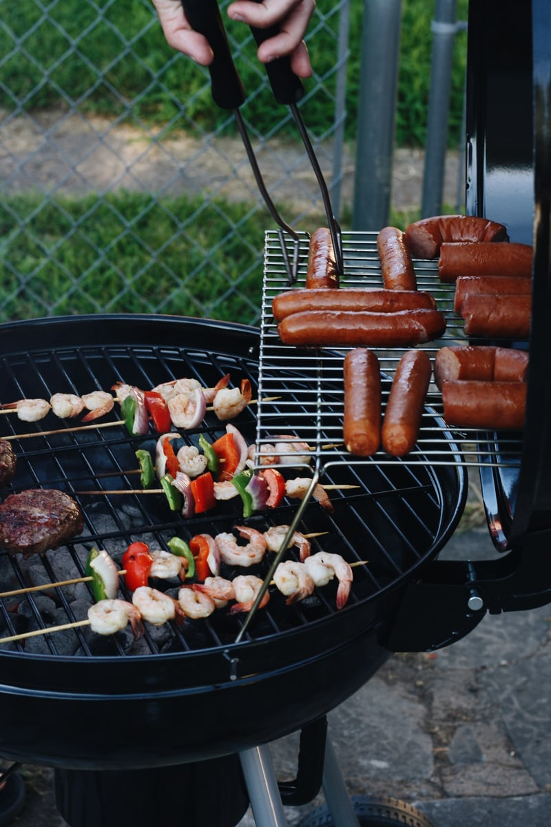 Tailgating hot dogs