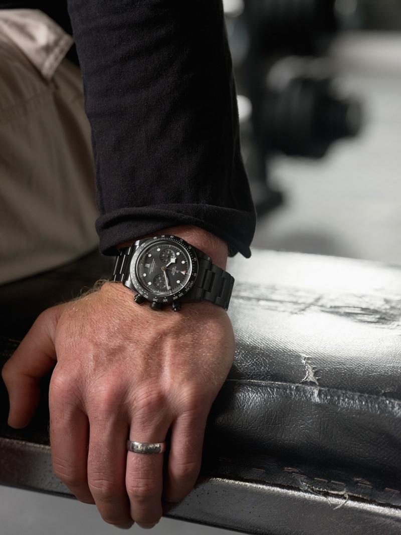 TUDOR Black Bay Chrono Dark Watch
