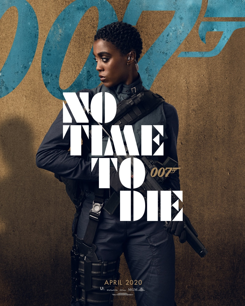 Naomie Harris - 'NO TIME TO DIE' Character Poster