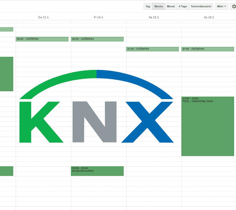 KNX mit Outlook steuern