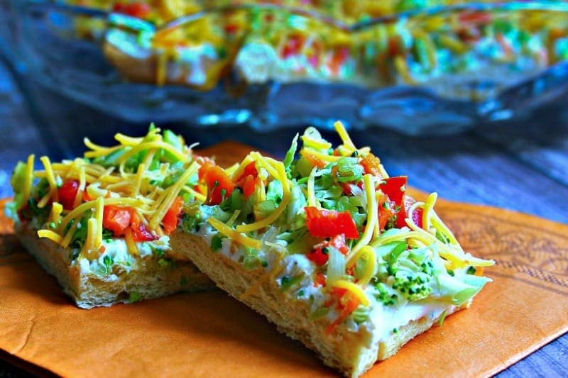 Cool Veggie Pizza Appetizer Life Love And Good Food