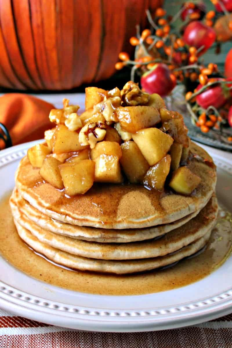 APPLE CINNAMON PANCAKES NATIONALPANCAKEDAY LIFE LOVE