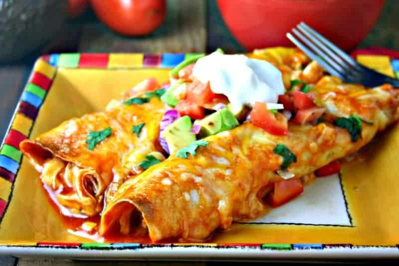 Cheesy Chicken Enchiladas | Life, Love, and Good Food