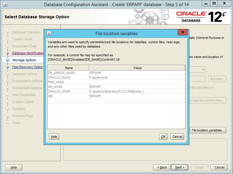Oracle DBCA 12.2 - Step 05-1