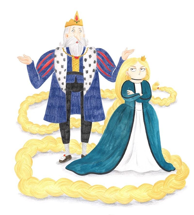 Rapunzel con piojos, El Hematocrítco, Anaya, cuentos clásicos, Feliz Feroz, piojos, parodia de personajes de cuentos clásicos,