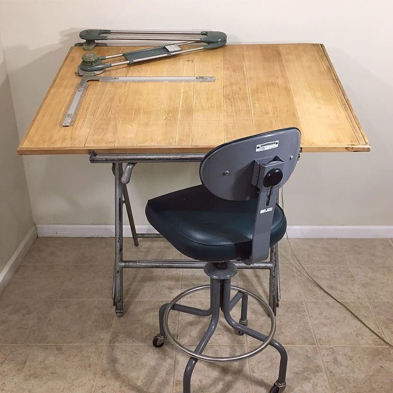 Best Leather Drafting Chair