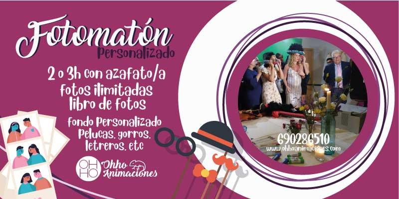Fotomatón en Sevilla para comuniones