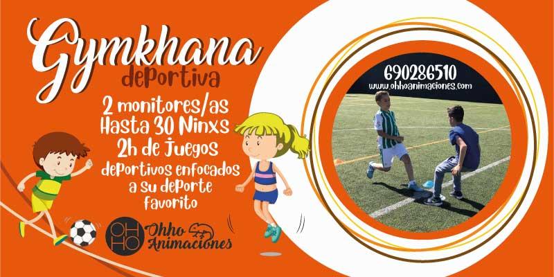 Gymkhana deportiva en Sevilla para comuniones