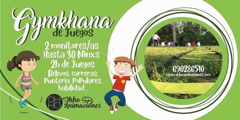Gymkhana de juegos en Sevilla. Gymkhana para comuniones
