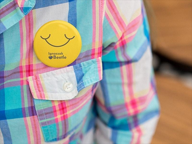 przypinka smile