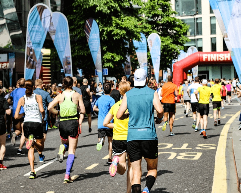 Charities & Not-for-profit - marathon runners