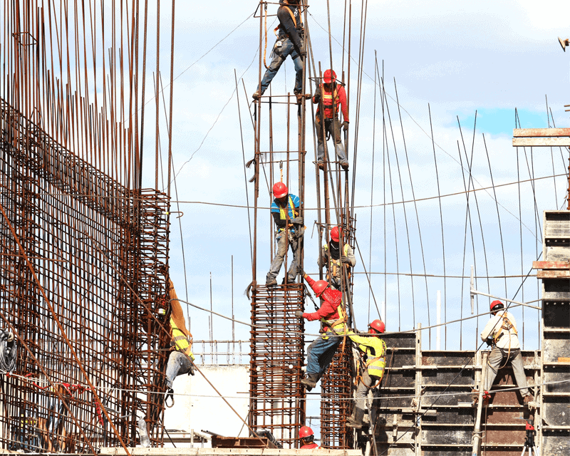 Property and construction - construction site