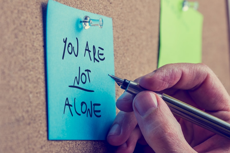 combating loneliness - you are not alone