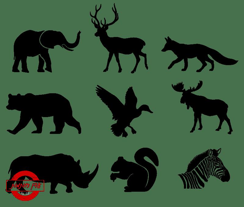 שבלונות של חיות