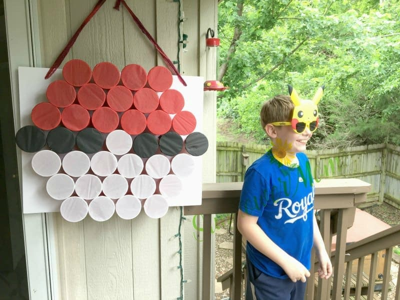 pokemon birthday party idea game
