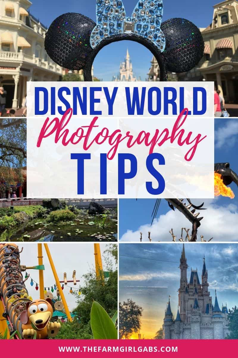 There is something special about a Disney photo.Vacation photos last a lifetime. These Disney Photography Tips will help you cherish those magical memories you make with your family at Walt Disney World.  #disneytips #disneypackingtips #disneyphotography