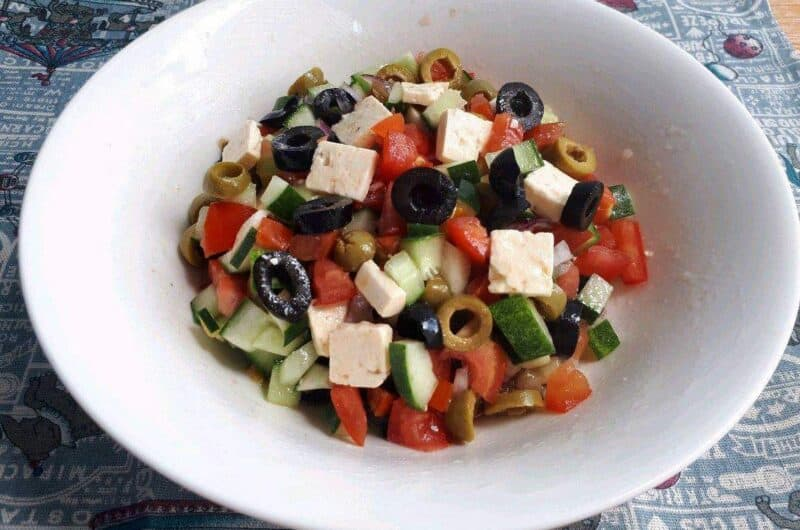 Turkish Shepherd Salad Recipe