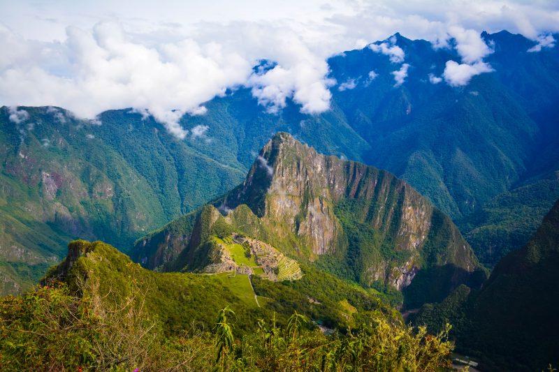 Heading back down Montaña viewpoint 5