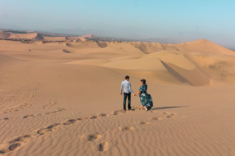 Hike the Tallest Sand Dunes in South America