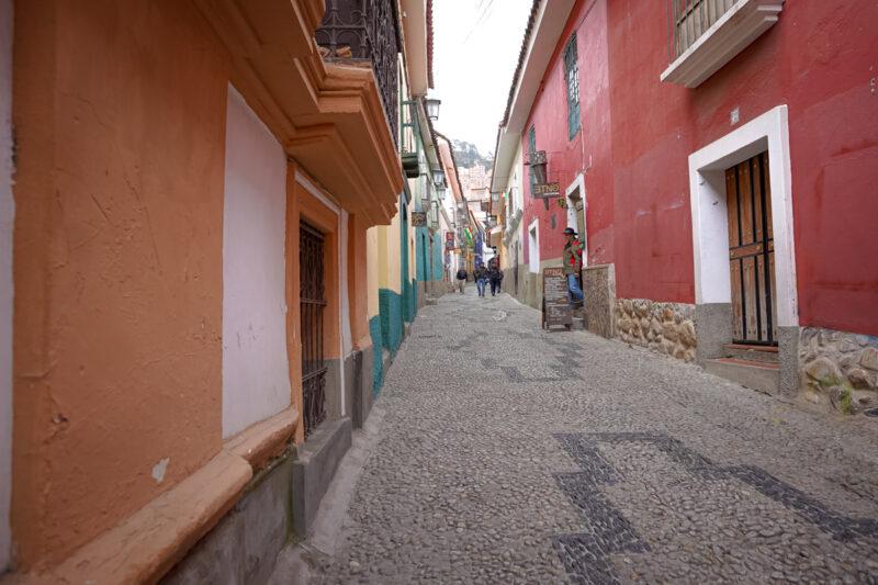 La Paz Bolivia-Jaen Street (Calle Jaén)