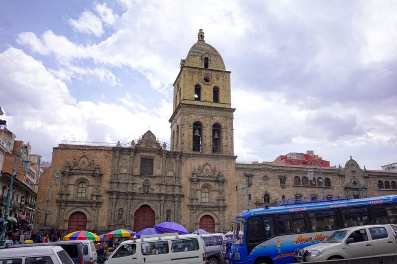 La Paz Bolivia-San Francisco Church