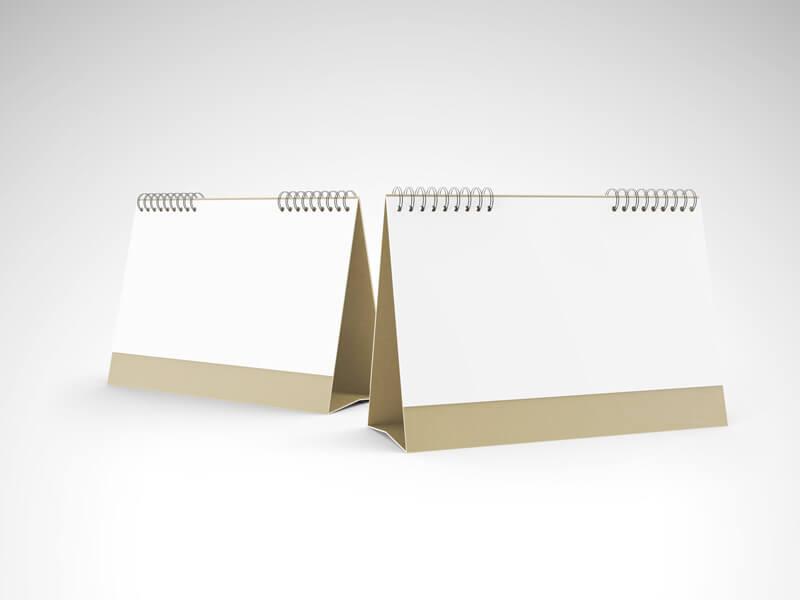Desk Calendar mock ups