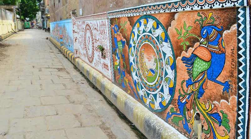 By-lane street art to boost patriotism in Kashi