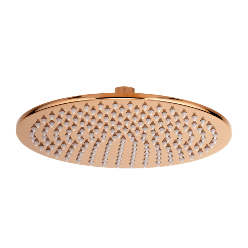 Dana Round Shower Head 250mm - Rose Gold