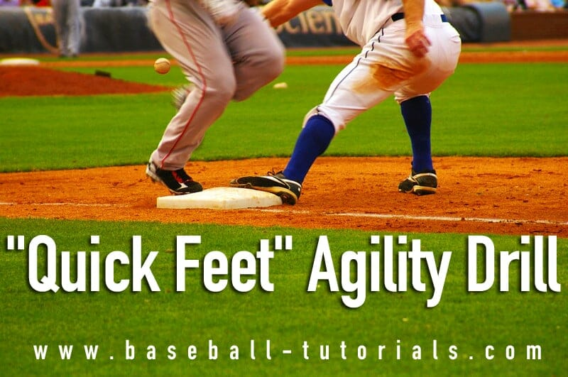 baseball agility drill quick feet