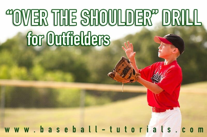 outfielder conditioning over the shoulder drill