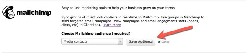 Save Mailchimp Audience