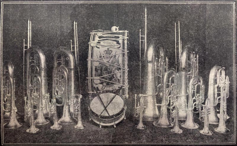 Silver instruments
