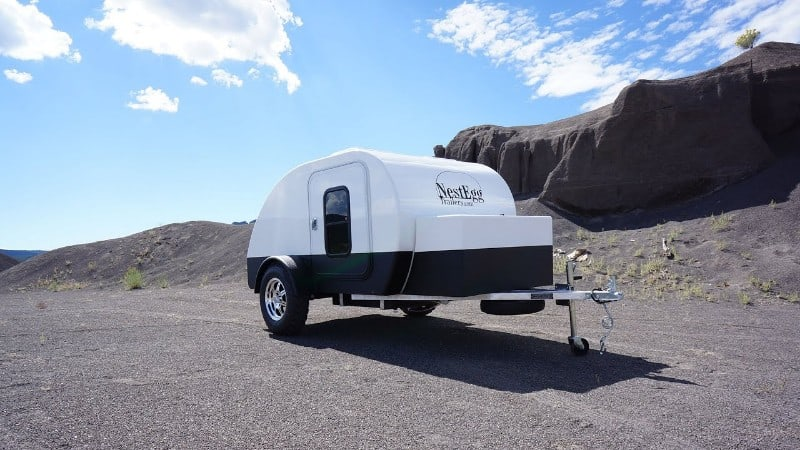 Teardrop Campers with AC