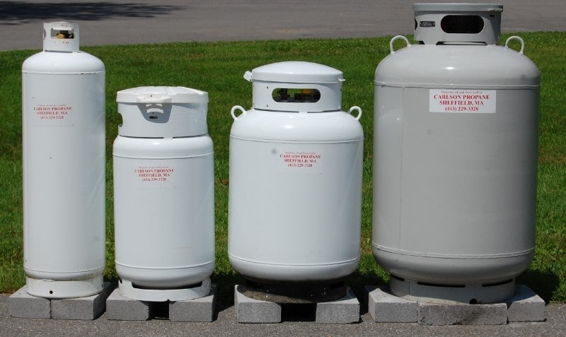 RV Propane Tank Sizes