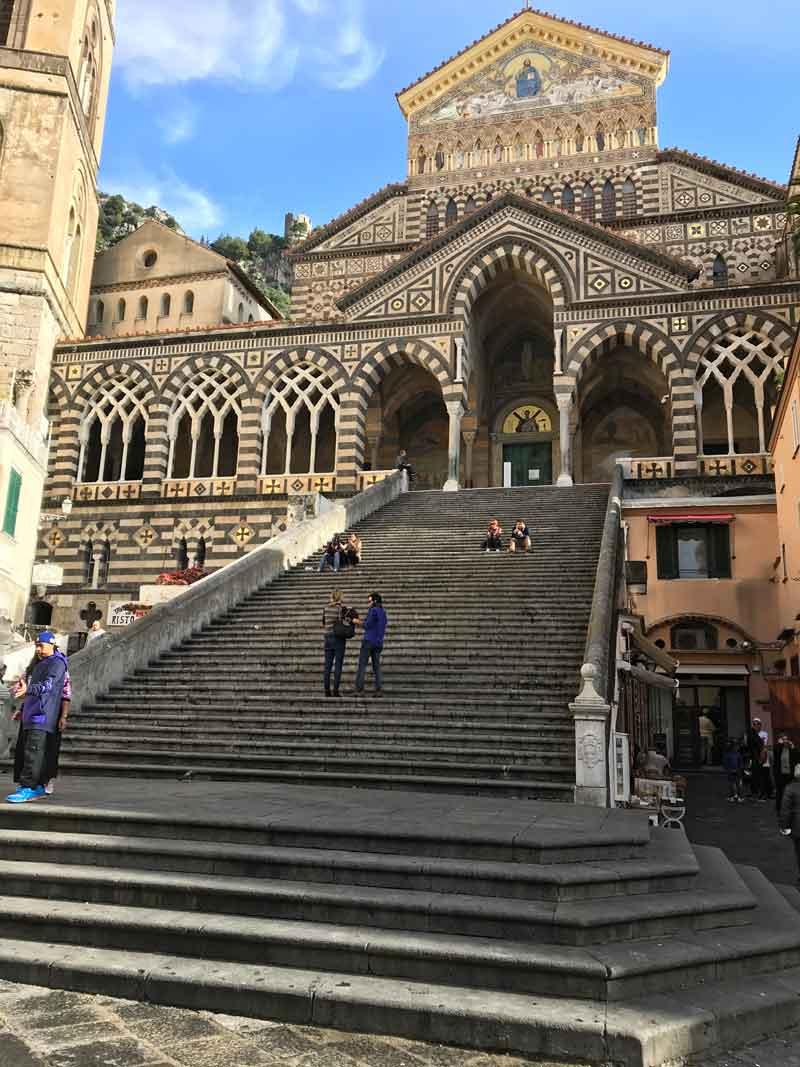 Amalfi facciata del Duomo