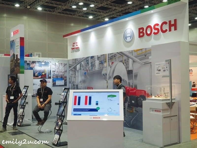 Bosch booth