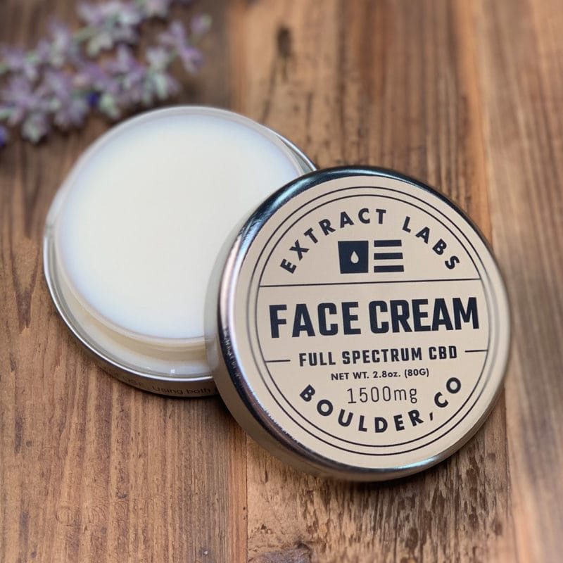 Extract Labs 1500mg CBD Face Cream
