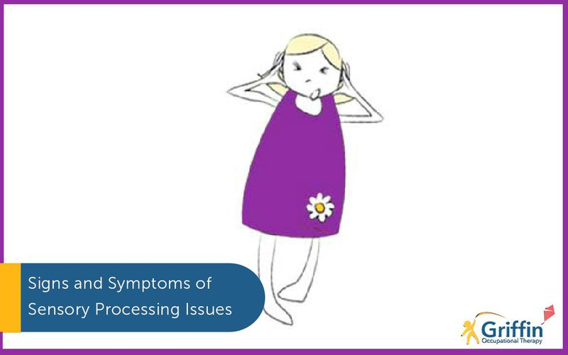 signs and symptoms of sensory issues