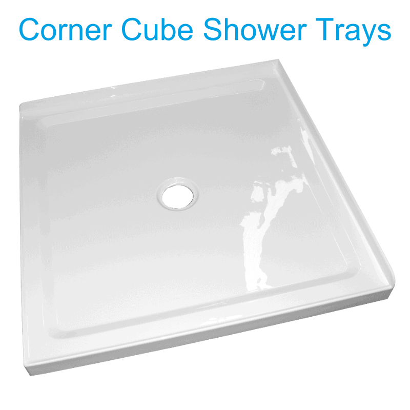 cube Low profile shower trays henry brooks