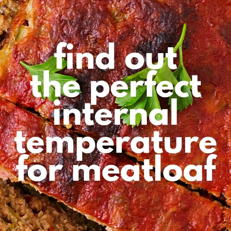 meatloaf internal temperature