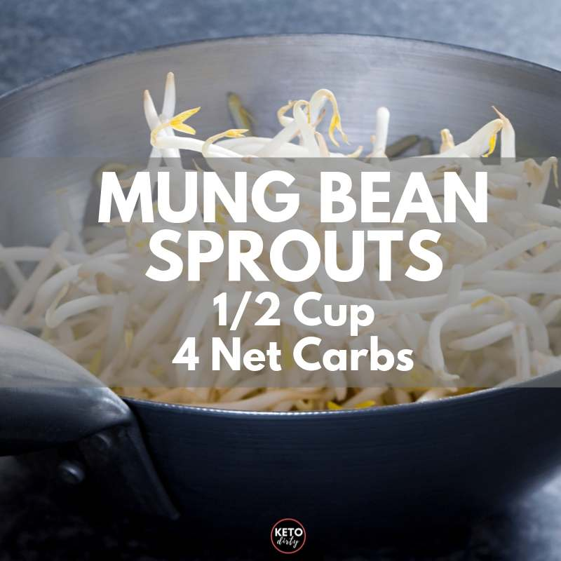 low carb bean sprouts