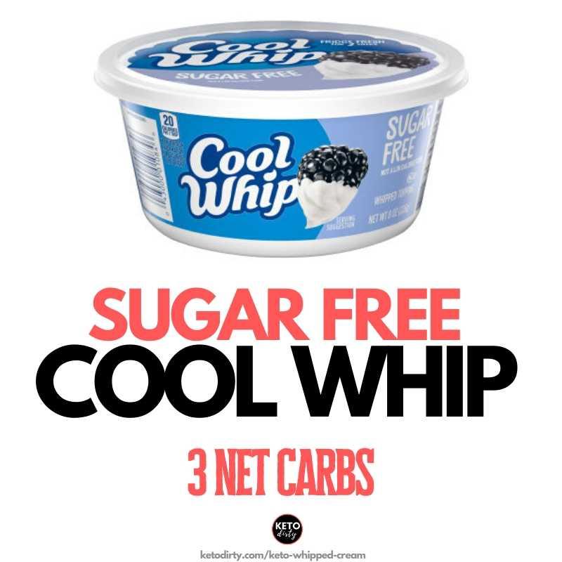 sugar free cool whip