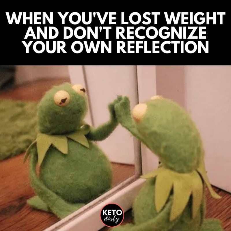 when you lose weight meme
