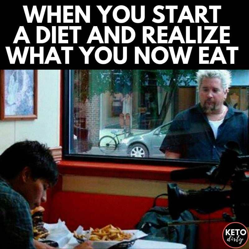 when you start a diet memes